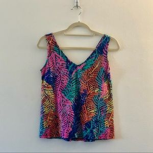 Lilly Pulitzer Tank in Electric Feel